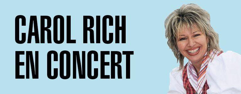 21.08.2019 – Concert Carol Rich